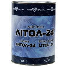 Смазка для редуктора Литол-24 ж/б 800 мл литиевая густая (GPL)
