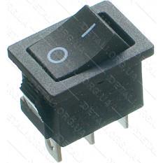 тумблер 2 положения 3 контакта 15*21 mm h24mm 6A