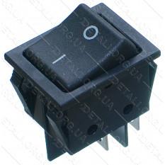 тумблер 2 положения 4 контакта 25*32 mm 16A