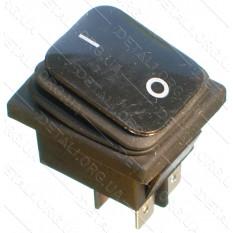 тумблер 2 положения 4 контакта 29*35 mm с пыльником 16A
