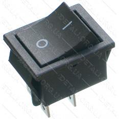 тумблер 2 положения 4 контакта пружина 25*31 mm 16A