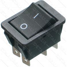 тумблер 2 положения 6 контактов 25*33 mm 16A