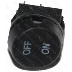 тумблер круглый 2 положения 2 контакта d 22 mm 6A