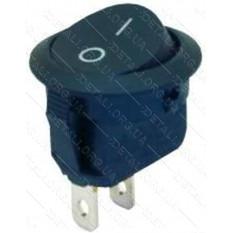 тумблер круглый 2 положения 2 контакта d 23 mm 6A