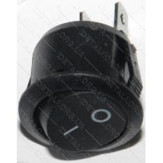 тумблер круглый 2 положения 2 контакта d 24 mm 6A