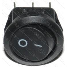 тумблер круглый 2 положения 3 контакта d 23 mm 6A