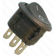 тумблер круглый 2 положения 3 контакта d23 mm