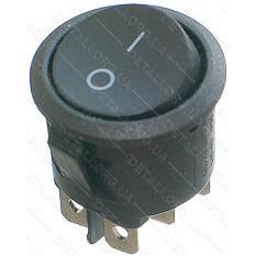тумблер круглый 2 положения 6 контактов d 25 mm 6A