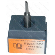 Фреза Globus Item 1000 D4mm L15mm d8mm