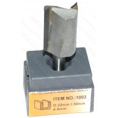 Фреза Globus Item 1003 D22mm l30mm d8mm