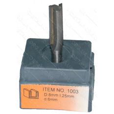 Фреза Globus Item 1003 D8mm L25mm d6mm
