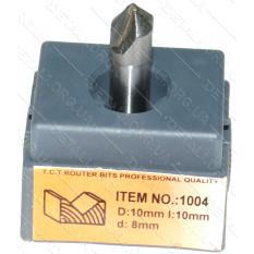 Фреза Globus Item 1004 D10mm l10mm d8mm