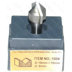 Фреза Globus Item 1004 D16mm l16mm d8mm