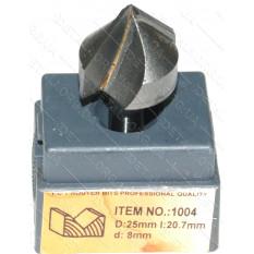 Фреза Globus Item 1004 D25mm l20,7mm d8mm
