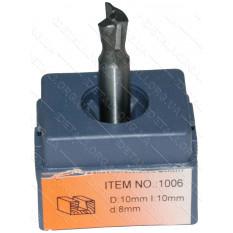 Фреза Globus Item 1006 D10mm L10mm d8mm