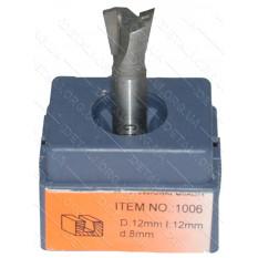 Фреза Globus Item 1006 D12mm L12mm d8mm