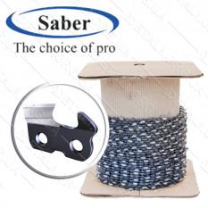 Цепь в бухте Saber супер зуб толщина 1,3мм, шаг 325, 1840 звеньев