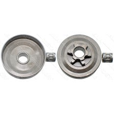 Чашка сцепления бензопилы Oleo-Mac GS 260 6 лучей D13*54*57 с подшипником 10*13*12,5