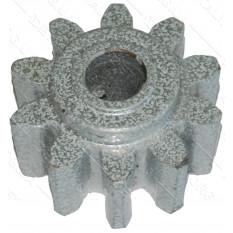 Шестерня бетономешалки белая (15*55 h32, 10 зубов)