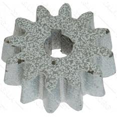 Шестерня бетономешалки белая (17*70 h21, 12 зубов)