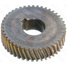 шестерня дисковой пилы Makita MLS100 (d16*47*12 43 зуба влево шпонка) оригиналJM23000088