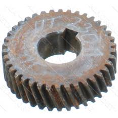 Шестерня электропилы Буран (d41*15  h12 / 38 зубов влево шпонка)