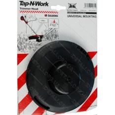Шпуля триммера универсальная Tap-N-Work d130mm набор шайб Италия