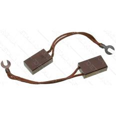 Щетки меднографитовые 12.5х25х40 выход сверху 2 провода (2 шт)