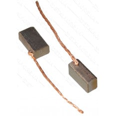 Щетки меднографитовые 4х6х10 выход сбоку (2 шт)