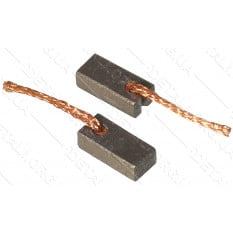 Щетки меднографитовые 4х6х12 выход сзади (2 шт)