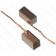 Щетки меднографитовые 5,5х5,5х13 выход сзади (2 шт)