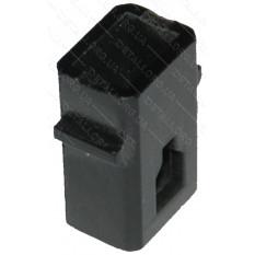 Щеткодержатель 6х9 пластик H 20mm