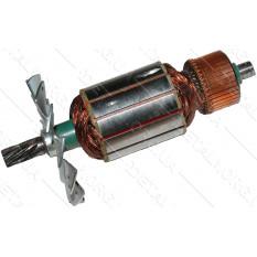 якорь Электропила цепная  Makita 5016B / РТ 2501 POWERTEC ( 168*49 9-з/лево)
