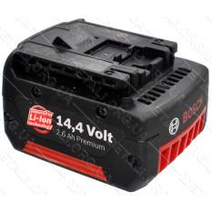 Аккумулятор шуруповерта Bosch GSR 14.4 V-Li оригинал 2607336077 (2,6 Ah)