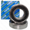 Подшипник NKE 6302 -2RS2-C3 (15*42*13) резина