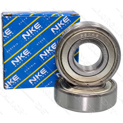 Подшипник NKE 6302 -2Z (15*42*13) металл