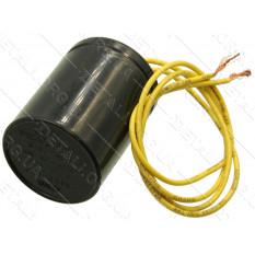 конденсатор CBB60 6мкф 450v с проводами d42*L55 для стиральной машины