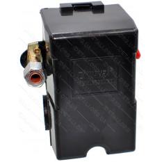Автоматика компрессора 220В 1 выход рычаг включения, передний выход под трубку