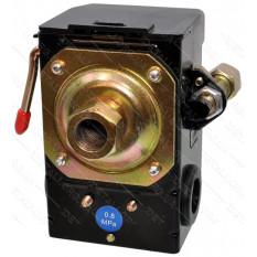 Автоматика компрессора 220В 1 выход PRO рычаг включения, передний выход под трубку