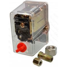 Автоматика компрессора 380В 1 выход PRO прозрачный корпус, переходник м3/8