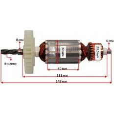 Якорь дрели Procraft PS-1000 (146*32 4-з лево)