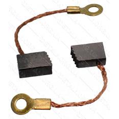 Щетки меднографитовые 4,5х6,5х10 кольцо выход сбоку (пара)