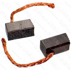 Щетки меднографитовые 5,5х6х11 выход сбоку (пара)