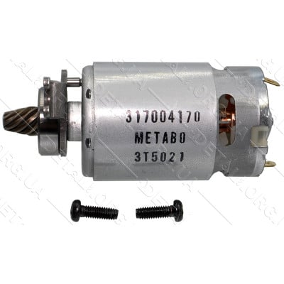 Двигатель сабельной пилы Metabo PowerMaxx ASE оригинал 316054060 (10,8V d38 L87 8-з лево)