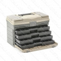 """Многофункциональный органайзер пластиковый для метизов, 17"""", 435x235x300 мм INTERTOOL BX-4017"""