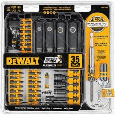 Набор бит для отверток 35 шт DEWALT Impact Ready DWA2T35IR оригинал