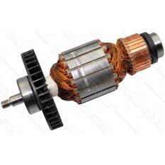 Якорь цепной электропилы Makita UC4051A оригинал 517904-4 (165*54 резьба 10 мм)