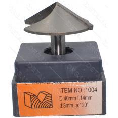 Фреза Globus Item 1004 D40mm L14mm d8mm