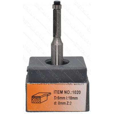 Фреза Globus Item 1020 D10mm L18mm d8mm Z:2