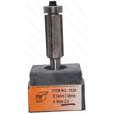 Фреза Globus Item 1020 D14mm L30mm d8mm Z:4